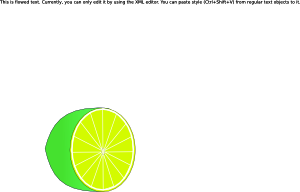 Conical lime