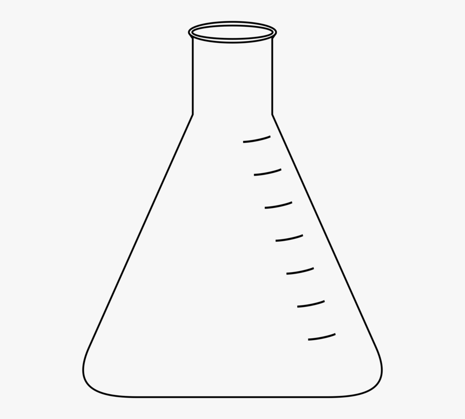 Conical melon. Beaker clipart flask