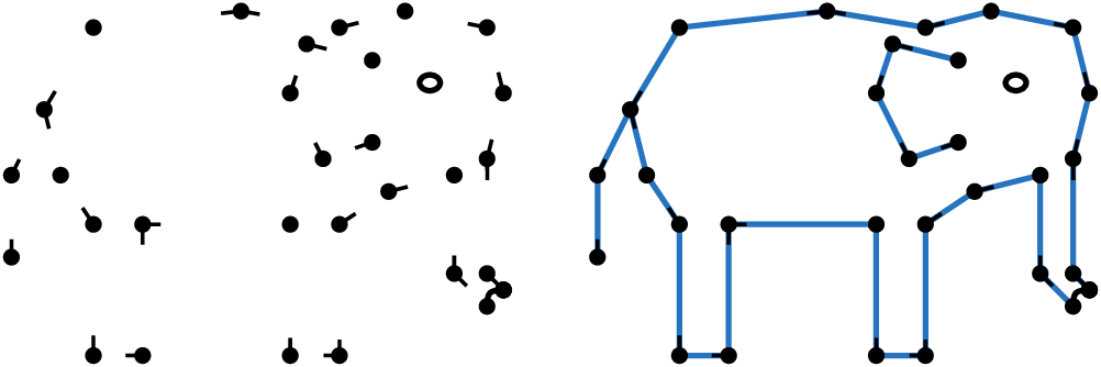 Connect the dots png. Drawing puzzles in a