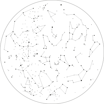 constellation transparent circle
