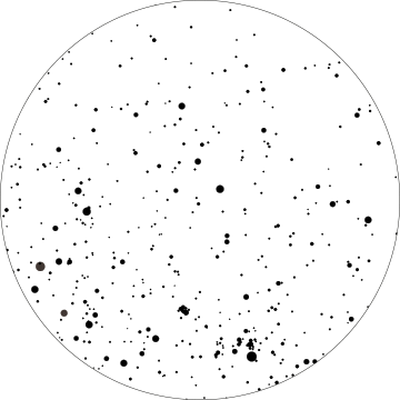 Constellation transparent circle. Image custom png animal