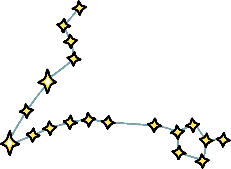 Constellation transparent pisces star. Image stars png scribblenauts