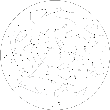 Constellation transparent tumblr. Image transparentconstellations png animal