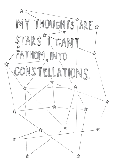 Constellation transparent tumblr. My thoughts are stars