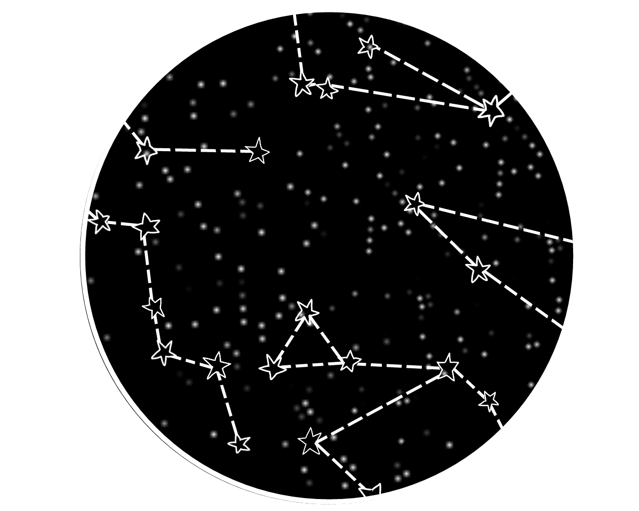 Constellations drawing aesthetic. Freetoedit constellation stars space