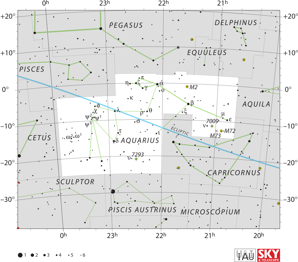Constellations drawing old. Aquarius constellation wikipedia
