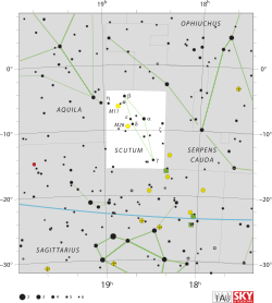 Constellations drawing scutum. Constellation wikivisually