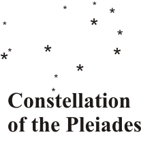 Constellations drawing seven sisters. Daily stuff emeric ancient