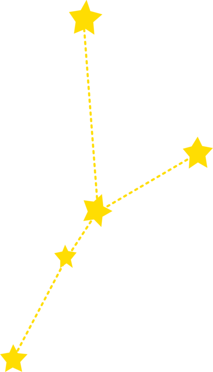 Constellations vector clipart. Star constellation information encapsulated