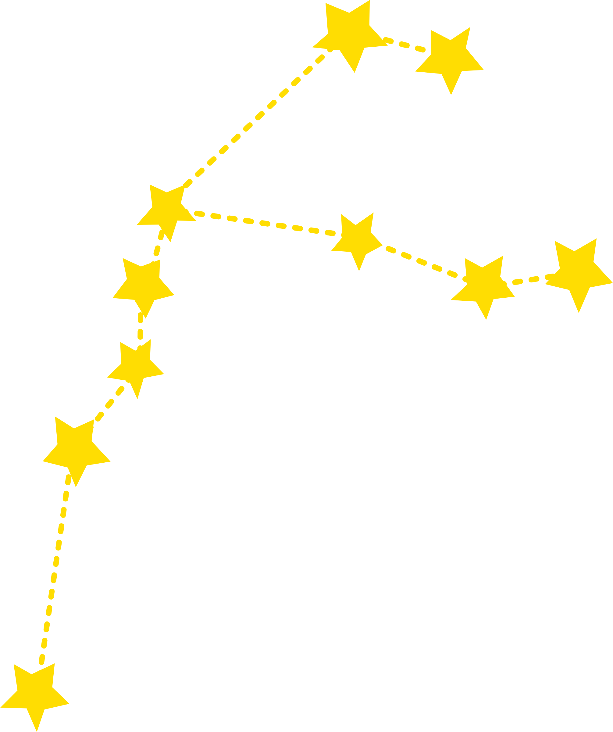 Constellations vector. Star clip free download