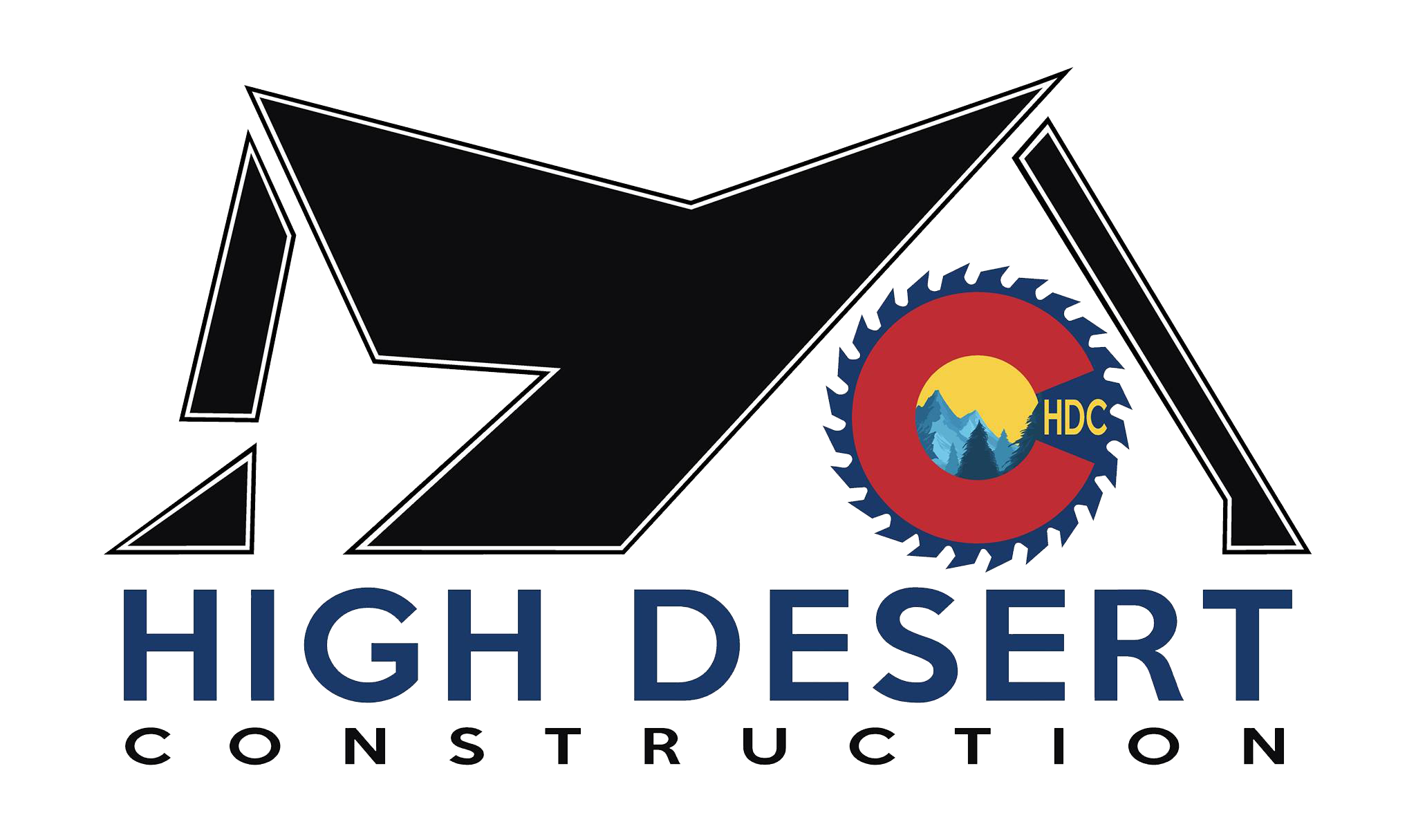 Construction company logo png. Custom home building remodeling