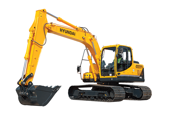 backhoe vector mining equipment