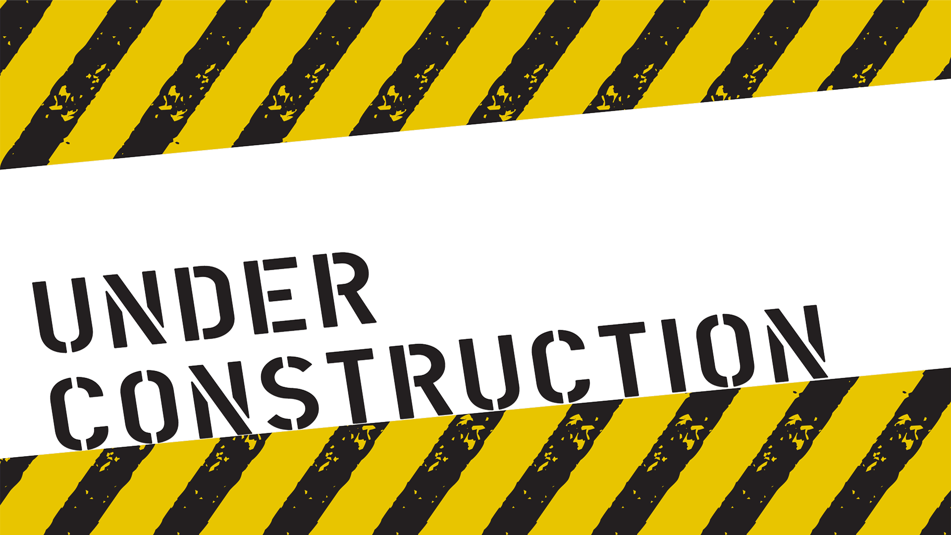 Under. Construction tape png clip black and white download
