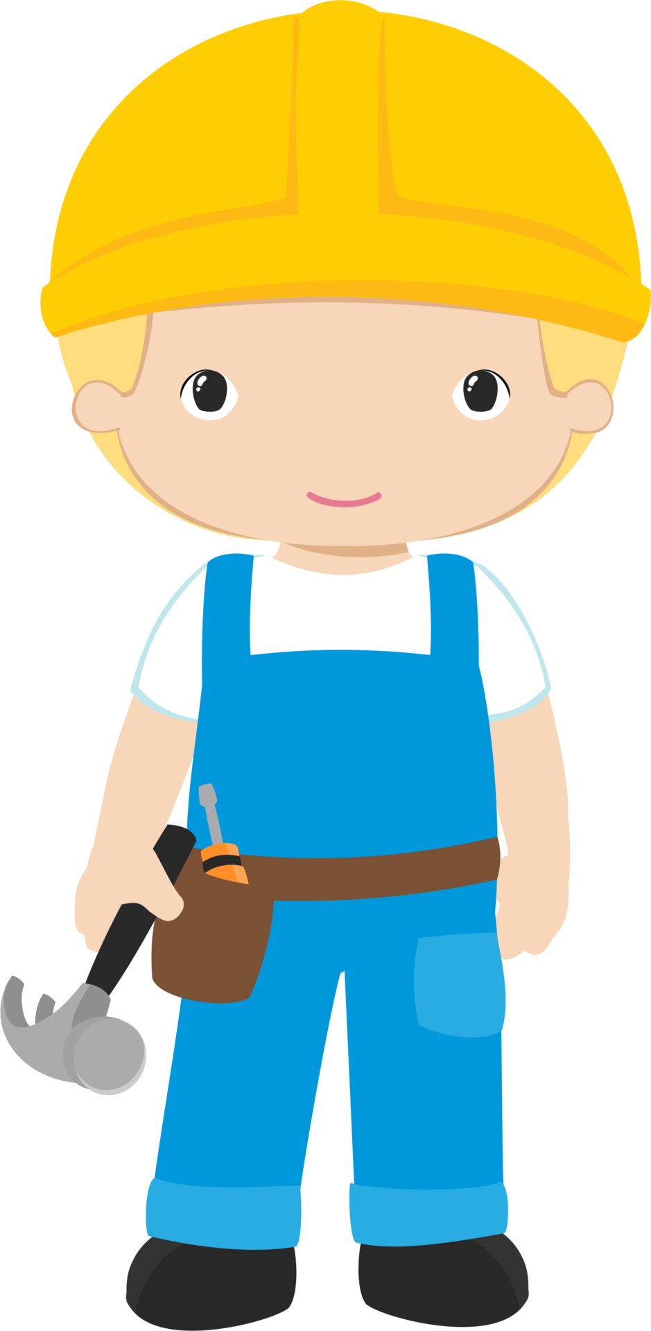 Construction worker clipart png. Shared ver todas