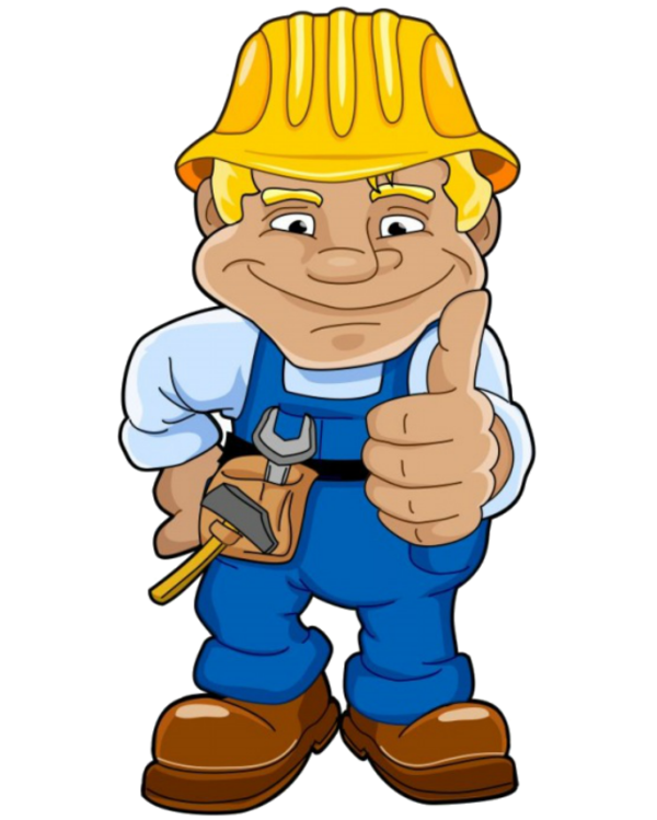 Construction worker clipart png. Personnages illustration individu personne