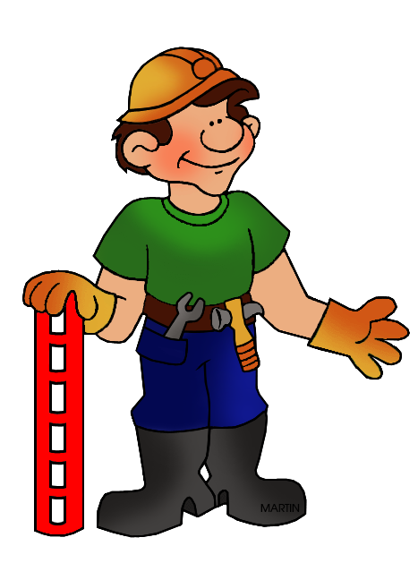 Construction worker clipart png. Architecture clip art by