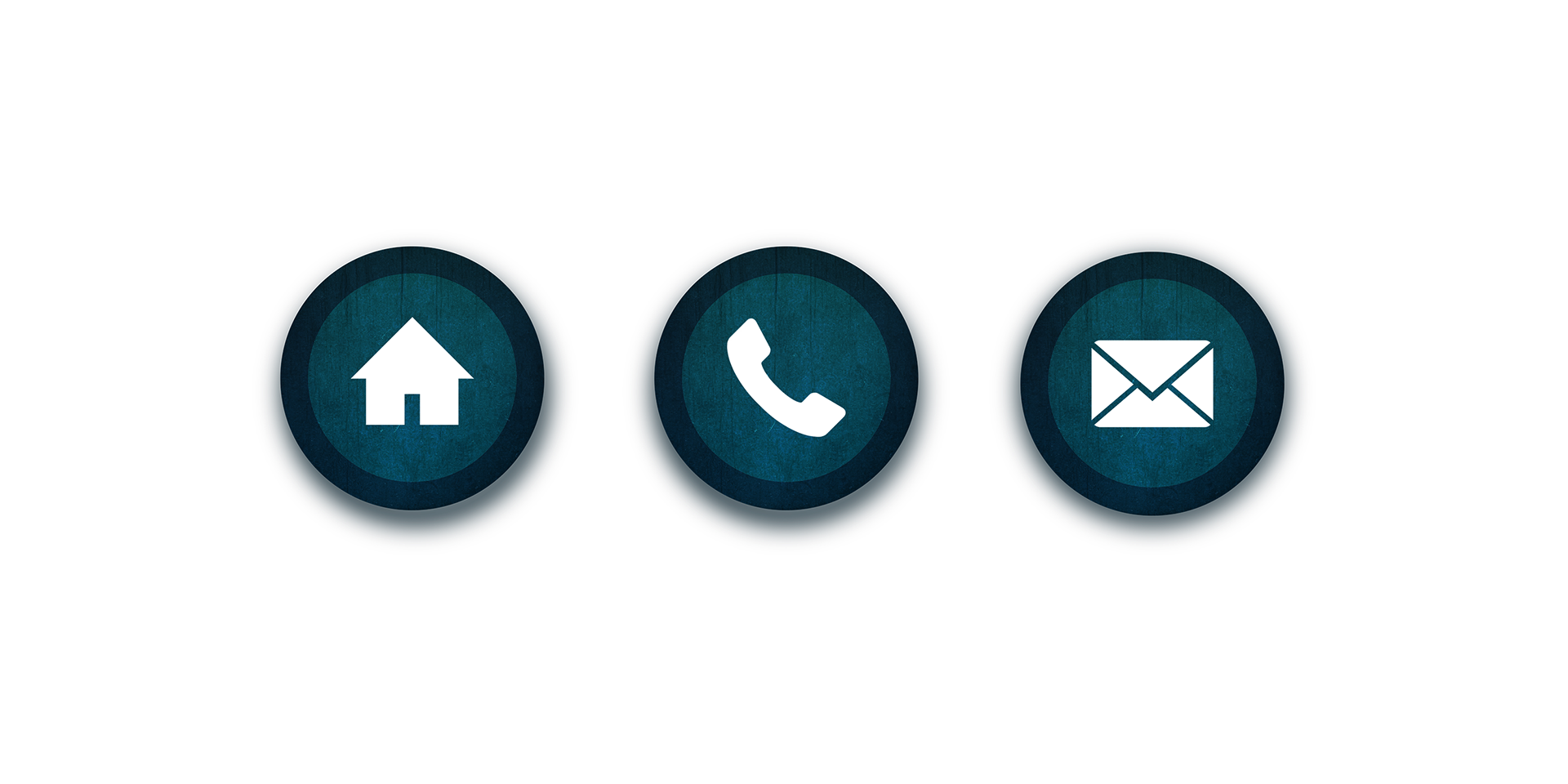 Contact buttons png. Peter stylianou icon redesign