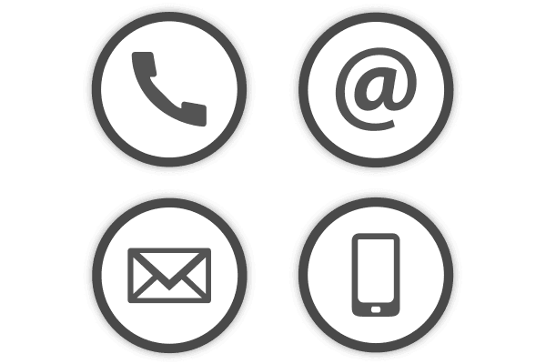 Contact buttons png. Strategic site selection mark
