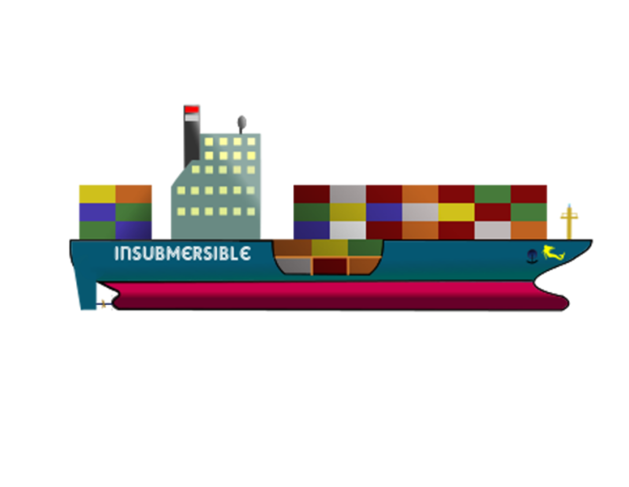 Container ship png. The insubmersible icons free