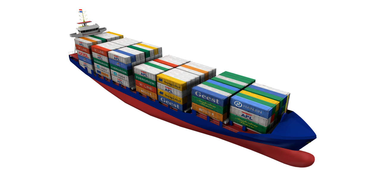 Container ship png. Feeder ranges damen with