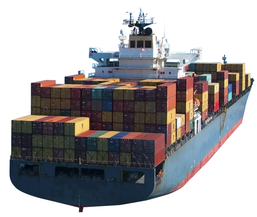 Container ship png. Freight forwarding services shipping