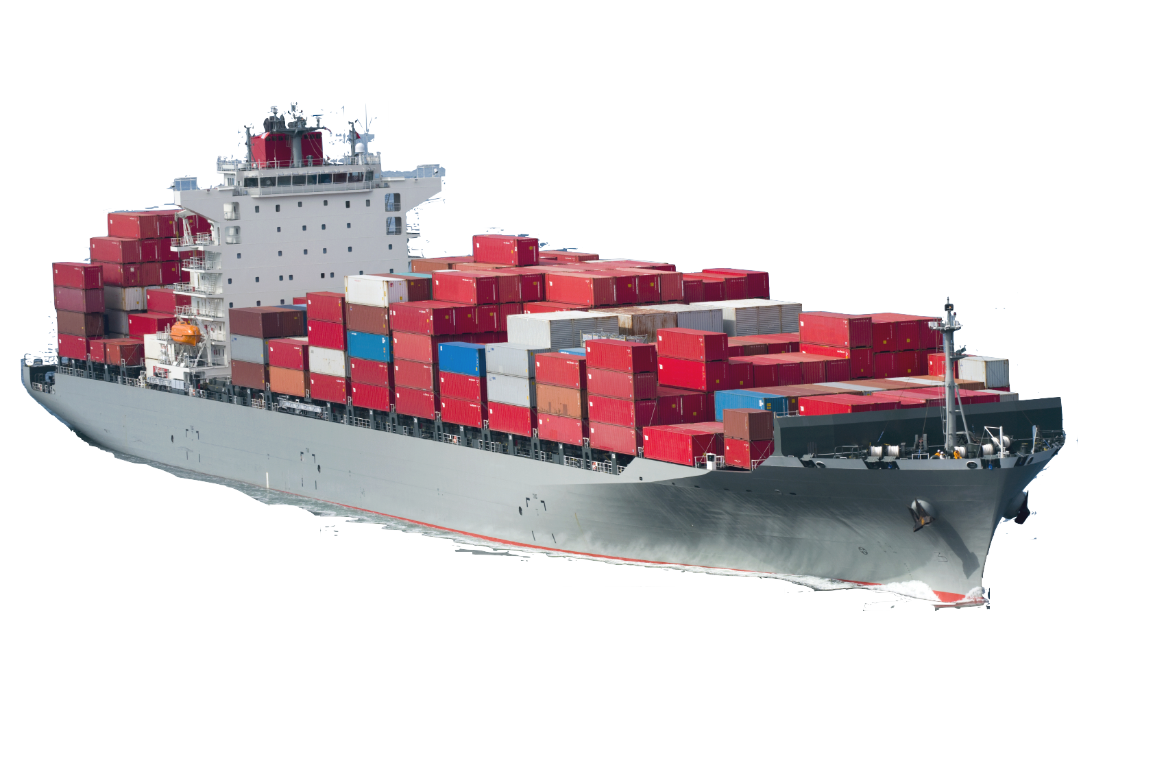Container ship png. Freight transport forwarding agency