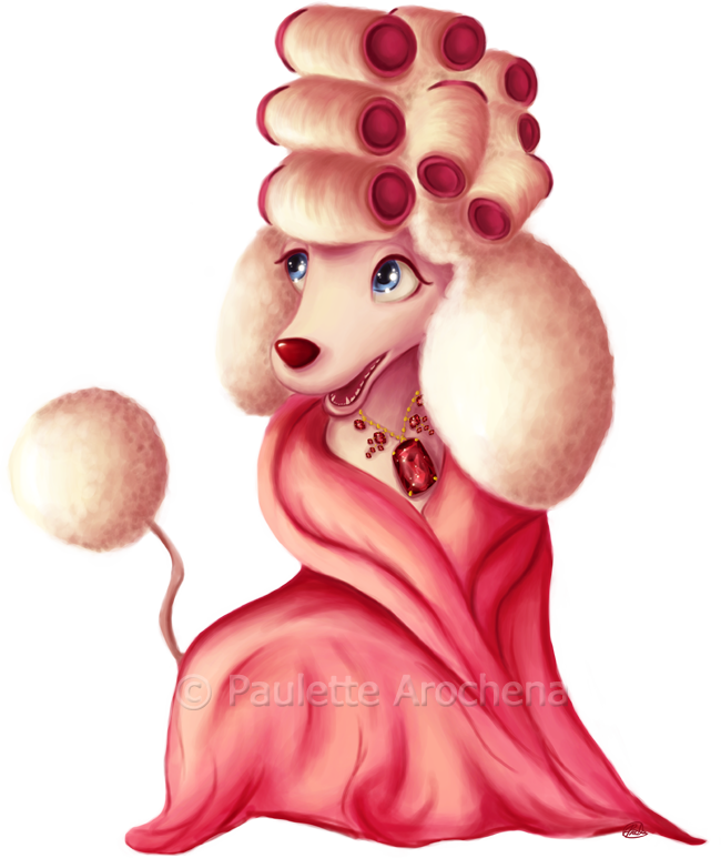 Poodle clip french. Pampered by parochena deviantart