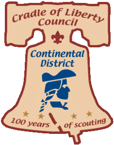 Continental clip summer. District cradle of liberty