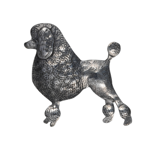 Continental clip. Poodle pin pendant courtney