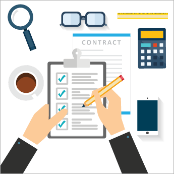 Contract clipart contract management. Ebook six steps for