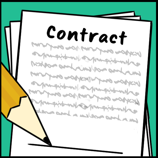 Contract clipart mutual agreement. Subcontractor agreements an easy