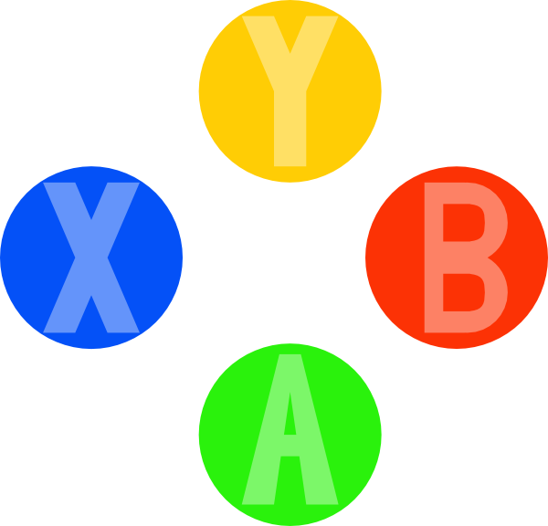 Controller buttons png. Image xbox light design