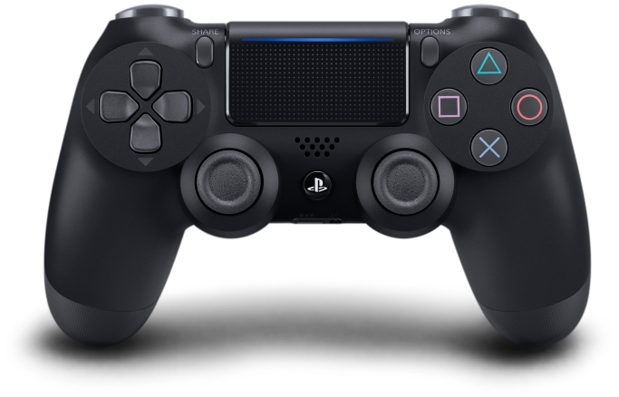 Controller clipart playstation 4 controller. Sony new dualshock wireless