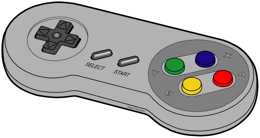 File snes wikimedia commons. Controller png freeuse download