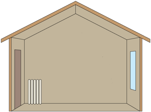 convection drawing radiator