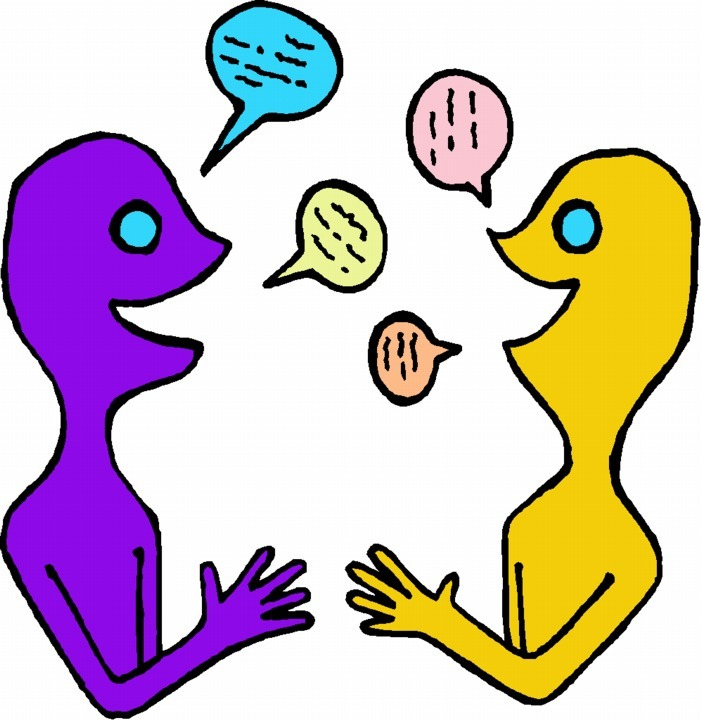 Conversation clipart partner share. Language study chinese in