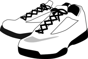 Converse clipart sport shoe. Running shoes drawing panda