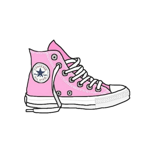 converse transparent tumblr sticker