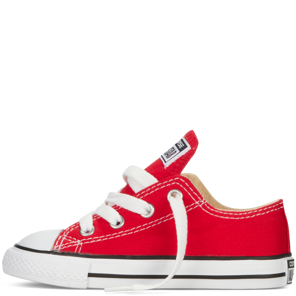 Converse shoe png. Infant red low top