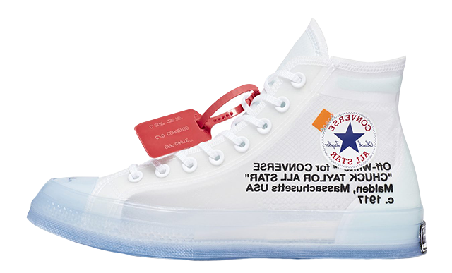 Converse transparent. Off white x chuck