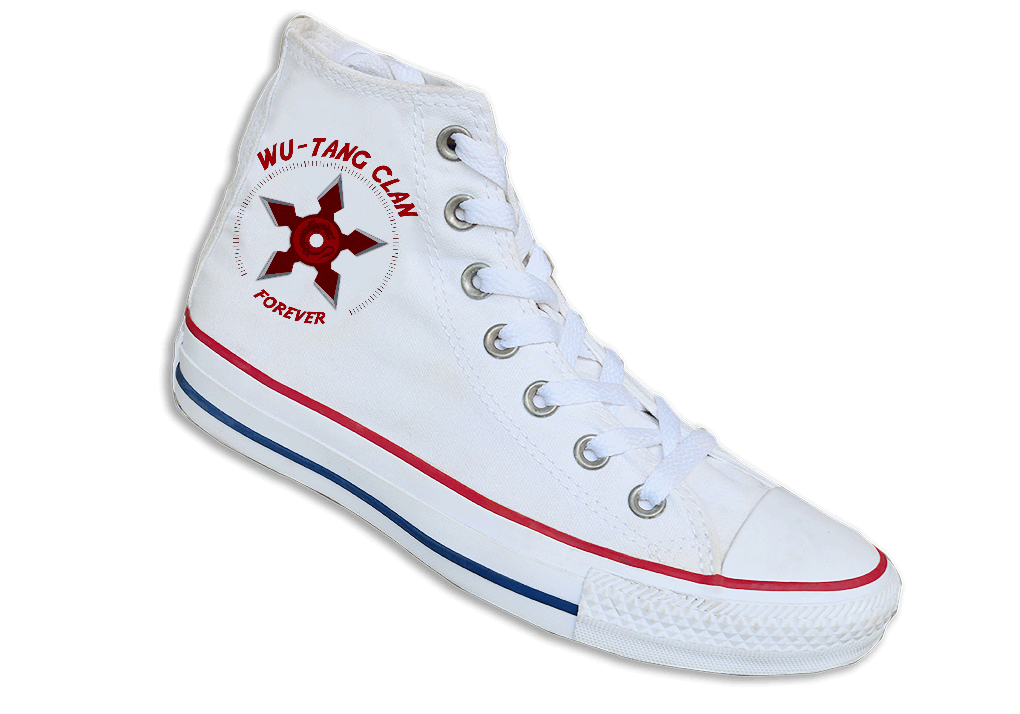 Converse transparent all star. Wu tang clan inspired