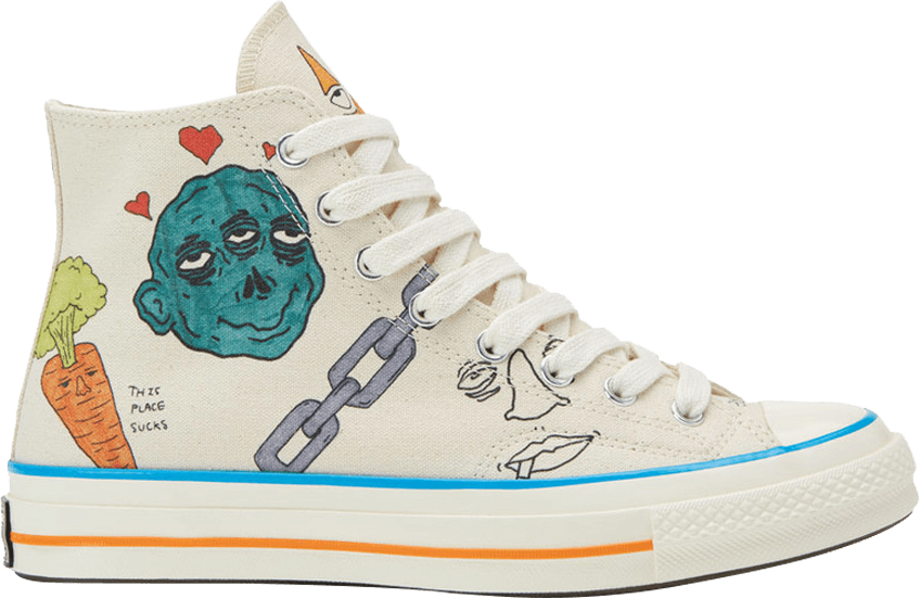 Converse transparent foot. Tyler the creator x