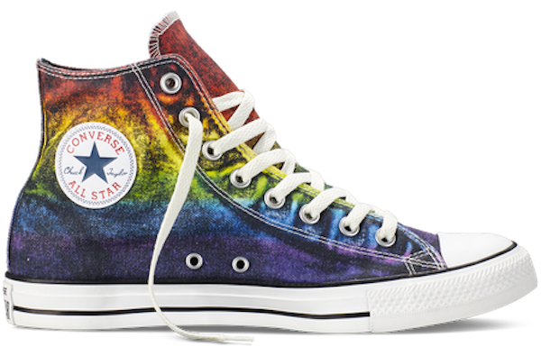 Converse transparent galaxy. Store on clothes the
