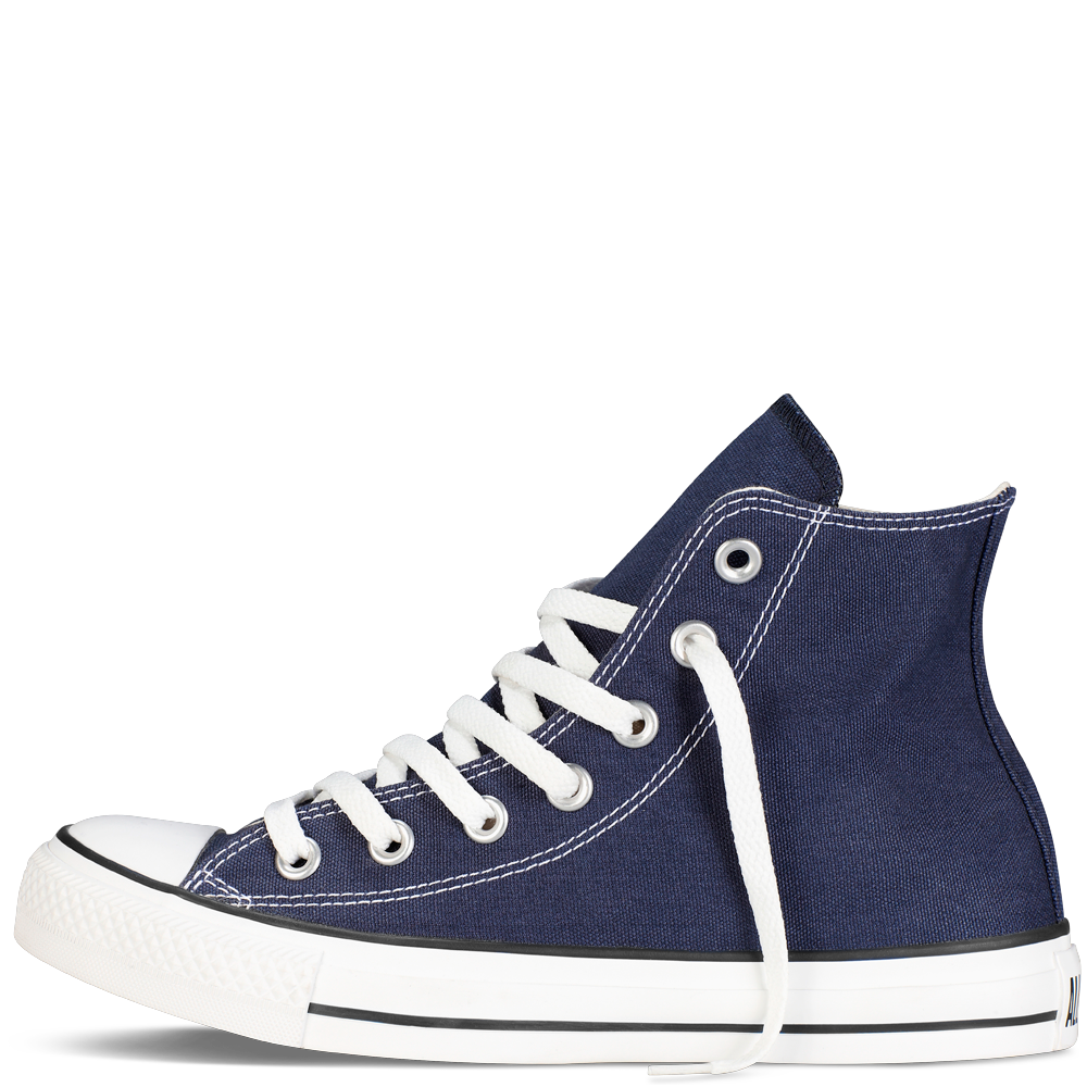 Navy high top shoe. Converse transparent half free download