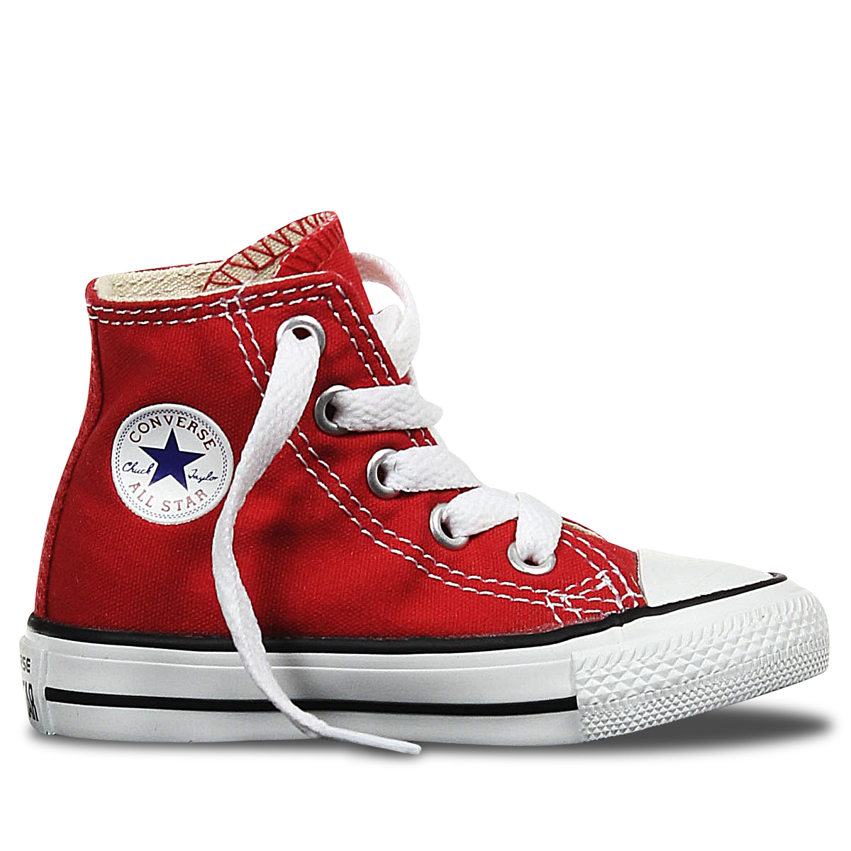 converse transparent red