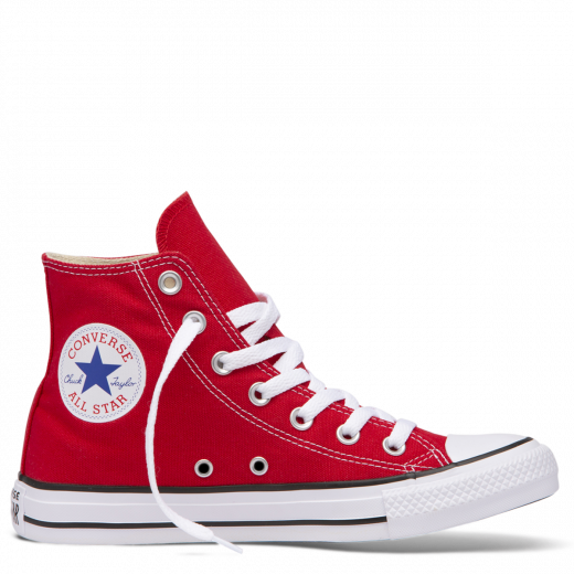 Converse transparent red. Chuck taylor all star