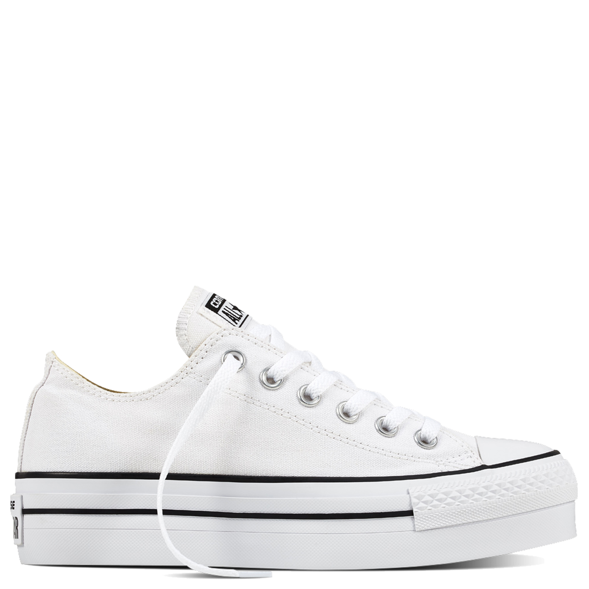 Converse transparent half. All star platform low