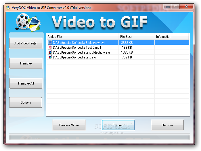Convert a gif to a png. Download verydoc video converter