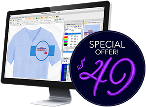 Convert png to dst free. Embroidery software wilcom truesizer