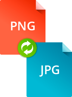 Convertir jpg a png. How to convert and